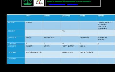 Calendario de pendientes 19-20
