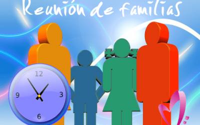 REUNIÓN CON LAS FAMILIAS